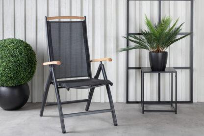 Panama 5-pos.stol svart
